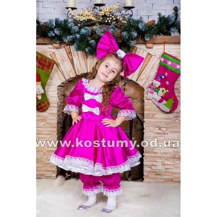 Кукла в малиновом, костюм Куклы