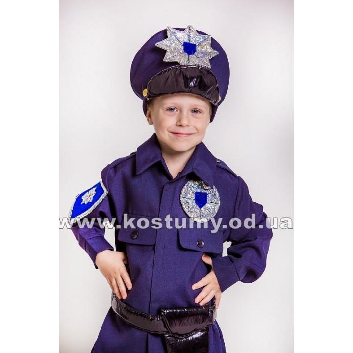 Полицейский, костюм Полицейского для мальчиков