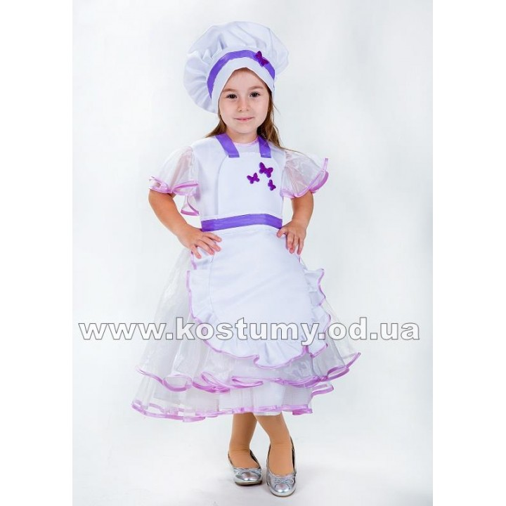Поваренок 1, Повар, костюм Повара, костюм Поваренка для девочек