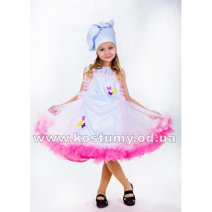 Поваренок 2, Повар, костюм Повара, костюм Поваренка для девочек