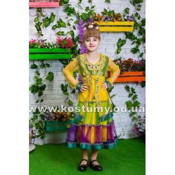 Индийский костюм для девочек, восточный костюм, Индианка, костюм Индия