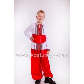 Козак 4, украинский костюм для мальчиков, костюм Козака, национальный костюм для подростков