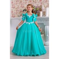 Детское платье на выпускной в сад АРИАДНА, выпускное платье, бальное платье