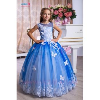 Выпускное платье в сад АЭЛИТА, детское платье на выпускной, детское платье на свадьбу, новогоднее платье