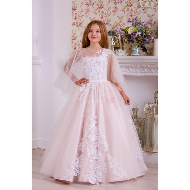 Платье выпускное модель ДОМИНИКА, платье на выпускной в сад, бальное платье
