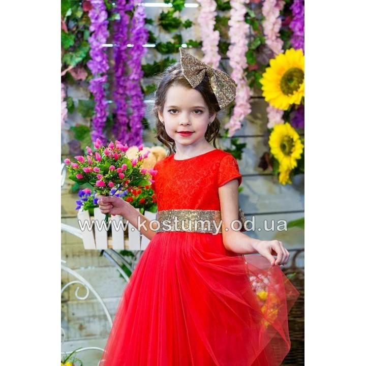 Детское коктейльное платье КАРМЭН, детское праздничное платье, нарядное детское платье