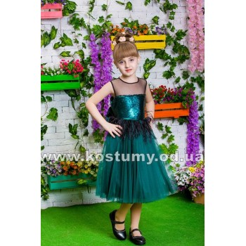 Выпускное платье МАРИНА, платье на выпускной в сад, детское коктейльное платье