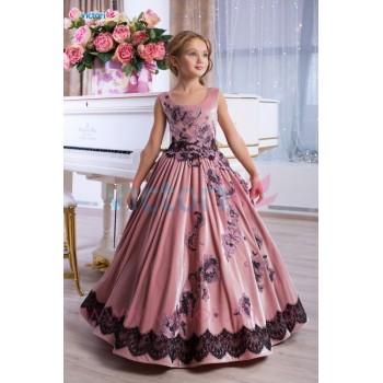 Выпускное платье в сад РЕГИНА, платье на выпускной в сад, детское бальное платье, платье для фотосессий