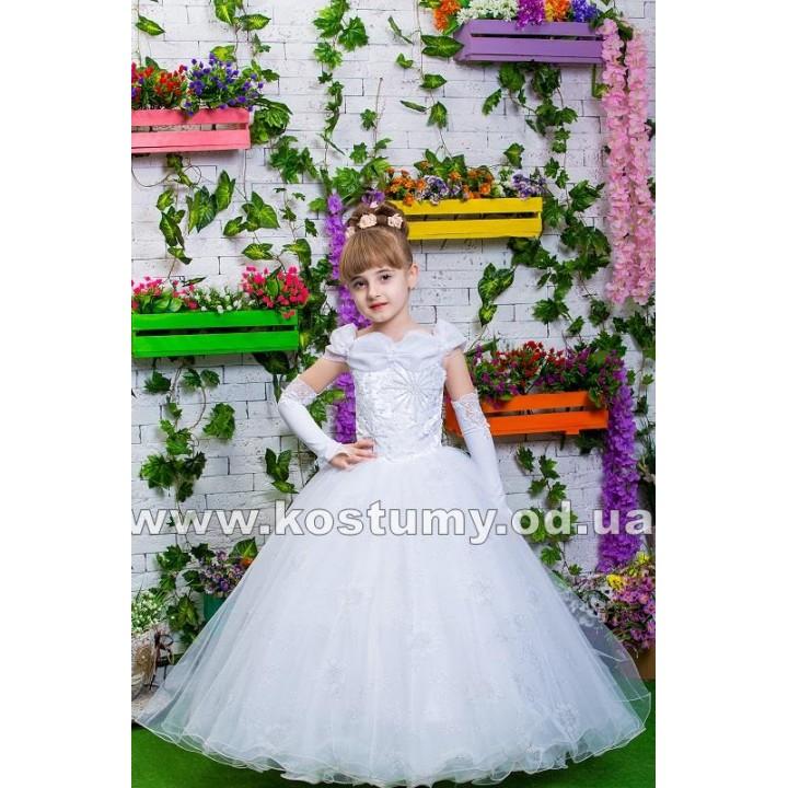 Платье бальное модель САНДРА, выпускное детское платье